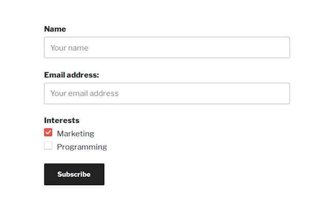 Wordpress MailChimp Eklentisi
